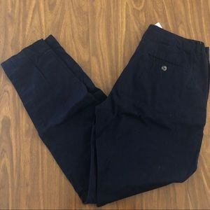 Navy blue skinny pants